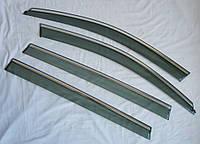 Skoda Octavia Wagon A7 ветровики дефлекторы окон ASP с молдингом нержавеющей стали / sunvisors