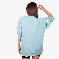 Свитшот женский CEREMONY 918 голубой, фото 2