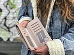Жіноча сумка-гаманець (бежева) 1245, фото 5