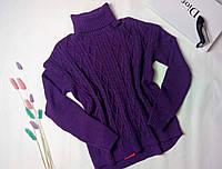 Женский вязаный свитер с горловиной Sewel