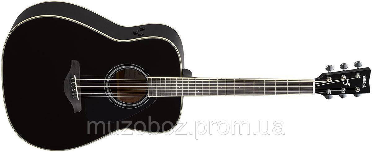 Электро-акустическая гитара Yamaha FG-TA (Black)