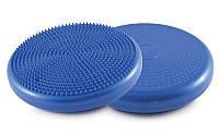 Балансировочная массажная подушка BALANCE CUSHION 4272 синяя (балансировочный диск для баланса и массажа)