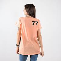 Футболка FLO-77 персиковая, фото 2