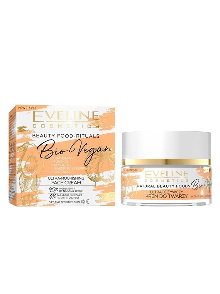 Крем ультрапитательный для лица день ночь «Bio Vegan», Eveline Cosmetics, 50мл, Эвелин
