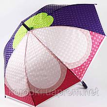 Зонт-трость  905-3 (0301) Длина 77 см, диаметр 90 см. Полуавтомат