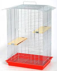 Клетка для шиншиллы (Лори люкс ) цинк 56,5х40х85см