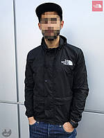 Ветровка мужская The North Face 1985 Seasonal Mountain Jacket (Черная) (S, M, L, XL, )