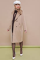 Базовое женское пальто, размер от 44 до 52, фото 3
