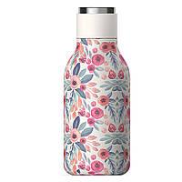 Термобутылка Asobu с двойными стенками, цветочная
