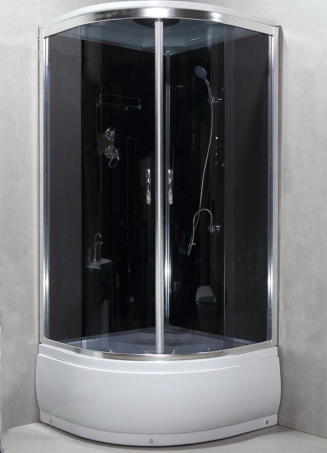 Душевая кабина с задними стенками 8300G душевой бокс 100х100
