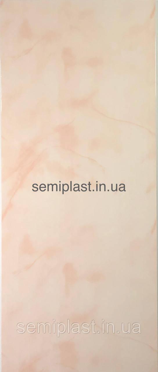 Панель пластиковая ПВХ Оникс Персиковый ON-08 250х6000х8 мм