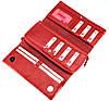 Большой женский кошелек кожаный красный BUTUN 587-004-006, фото 6