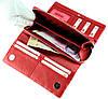 Большой женский кошелек кожаный красный BUTUN 587-004-006, фото 7