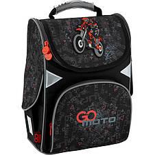 Рюкзак школьный GoPack Education каркасный GO20-5001S-11 Go Moto, фото 2