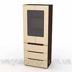Шкаф для спальни Компанит МС Шкаф-21 МДФ