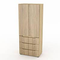Шкаф для спальни Компанит МС Шкаф-22 МДФ