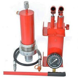 КОМПЛЕКТ цилиндр гидравлический для пресса с манометром 30 тонн Profline +Насос гидравлический 30 тонн