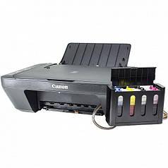 Повне рішення: БФП CANON E414 + СНПЧ Чорний Друк фото тексту студія принтер, сканер, копір подарунки ХІТ