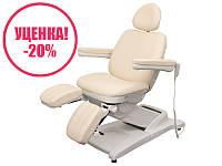 Педикюрное кресло мод. 3872-3M (3 мотора), бежевое