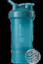 Шейкер спортивный BlenderBottle ProStak 650 мл с 2 контейнерами Teal (PS 22oz Teal)