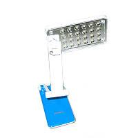 Настольная светодиодная лампа Topwell 1019 аккумуляторная Синий (008272)
