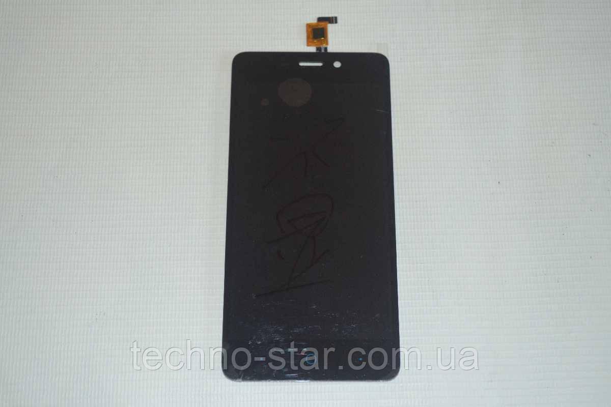 Оригинальный дисплей (модуль) + тачскрин (сенсор) для ZTE Blade X3 A452 (черный цвет)