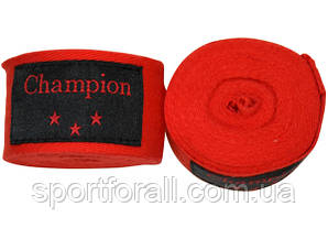 Бинты боксерские хлопок Champion (3м.-2 шт.) МА-0035