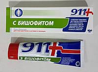 Гель-бальзам С БИШОФИТОМ 911 д/тела при боли в суставах, 100 мл
