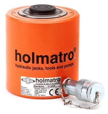 Телескопические качественные домкраты с самовозвратом HFJ и Hj HOLMATRO