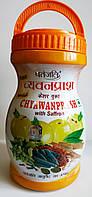 Чаванпраш Патанджали  с Шафраном 1кг из свежих фруктов амлы натуральный продукт для повышения иммунитета Индия