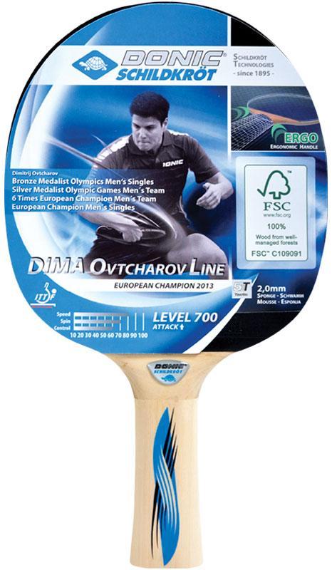 Ракетка для настольного тенниса Donic Ovtcharov 700 FSC (9434)