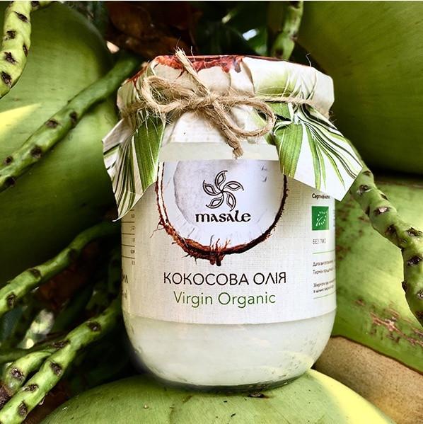 Кокосовое масло Organic Virgin Шри Ланка Masale 200 мл
