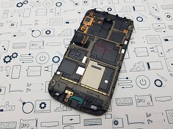 Дисплей Samsung S7562 модуль черный Сервисный оригинал с разборки