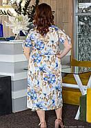 / Размер 50,52,54,56,58,60 / Женское платье из шелка свободного покроя, фото 2