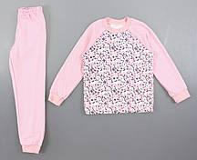 {есть:80 СМ} Пижама детская с начесом для девочек, 80-134 рр. Артикул: 11333 [80 СМ]