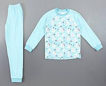 {есть:110 СМ,92 СМ} Пижама детская с начесом для девочек, 92-134 рр. Артикул: 11337 [110 СМ]