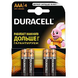 Батарейка AAA Duracell LR03 MN2400 блістер (4шт)