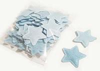 Аппликация для детей на одежду Звезда 10 шт