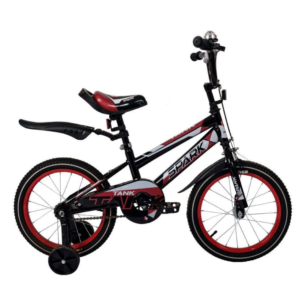 """Велосипед детский 18"""" для мальчиков  9,5"""" SPARK KIDS TANK"""