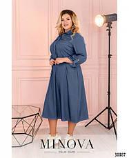 Платье женское свободное размеры: 50-64, фото 2