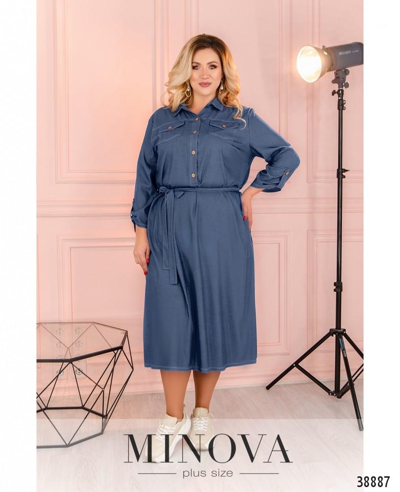 Платье женское свободное размеры: 50-64
