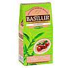 Зеленый чай Basilur Клюква 100 грамм