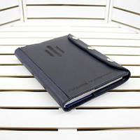 Подарочный кожаный ежедневник с лазерной гравировкой. Кожаная обложка на ежедневник + ежедневник А5.