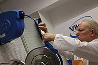 Ручная щітка з підключенням до води, 355 мм, жорстка