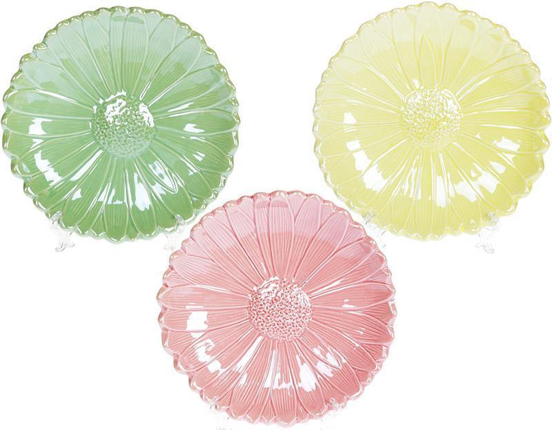 """Набор 6 декоративных тарелок """"Астра"""" Ø22см, керамика"""