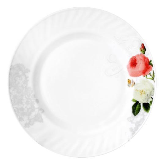 "Набор 6 тарелок десертных ""Роза-Бутик"" Ø17.5см, стеклокерамика"