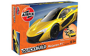 McLaren P1. БЫСТРАЯ СБОРКА БЕЗ КЛЕЯ. AIRFIX J6013