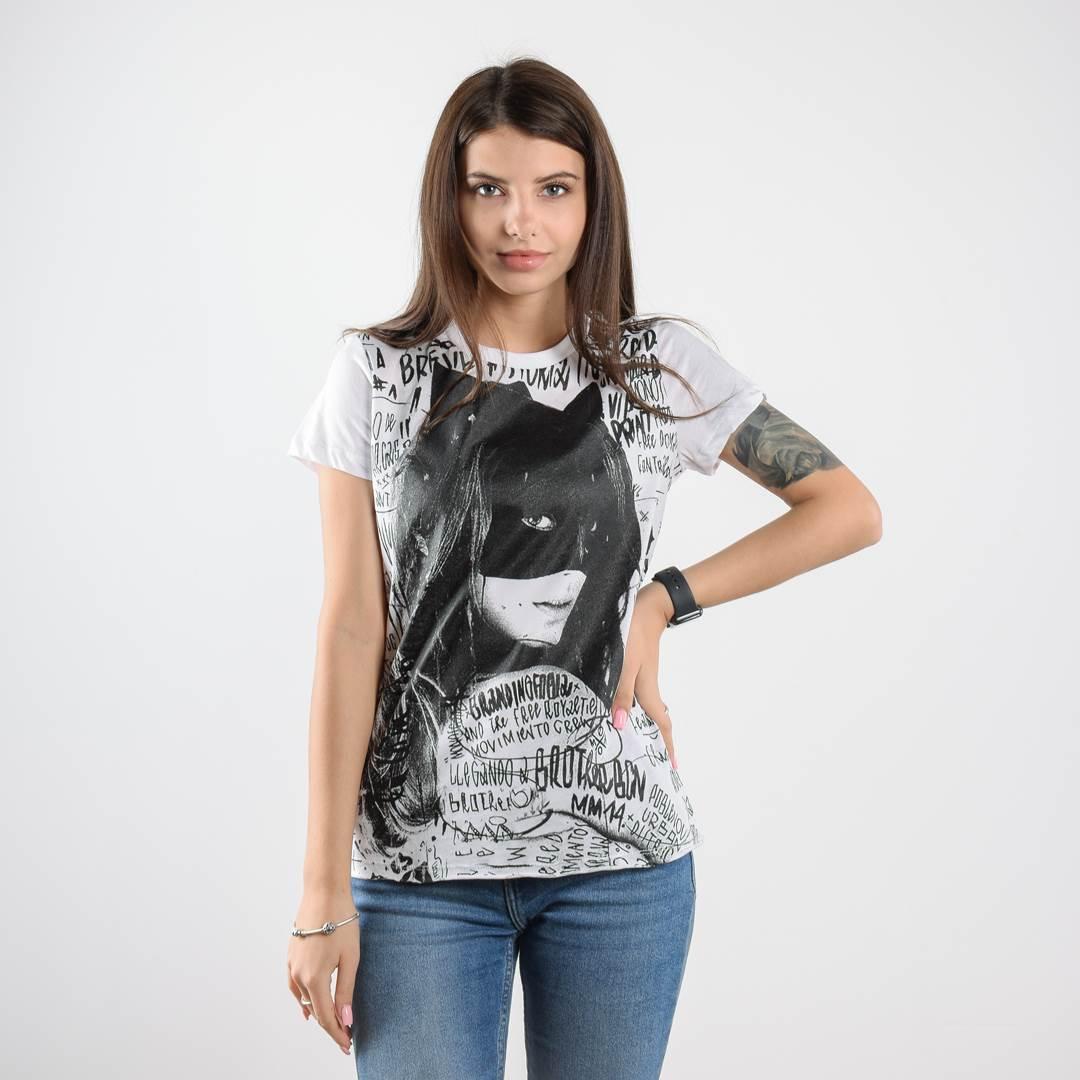 Женская футболка CATS