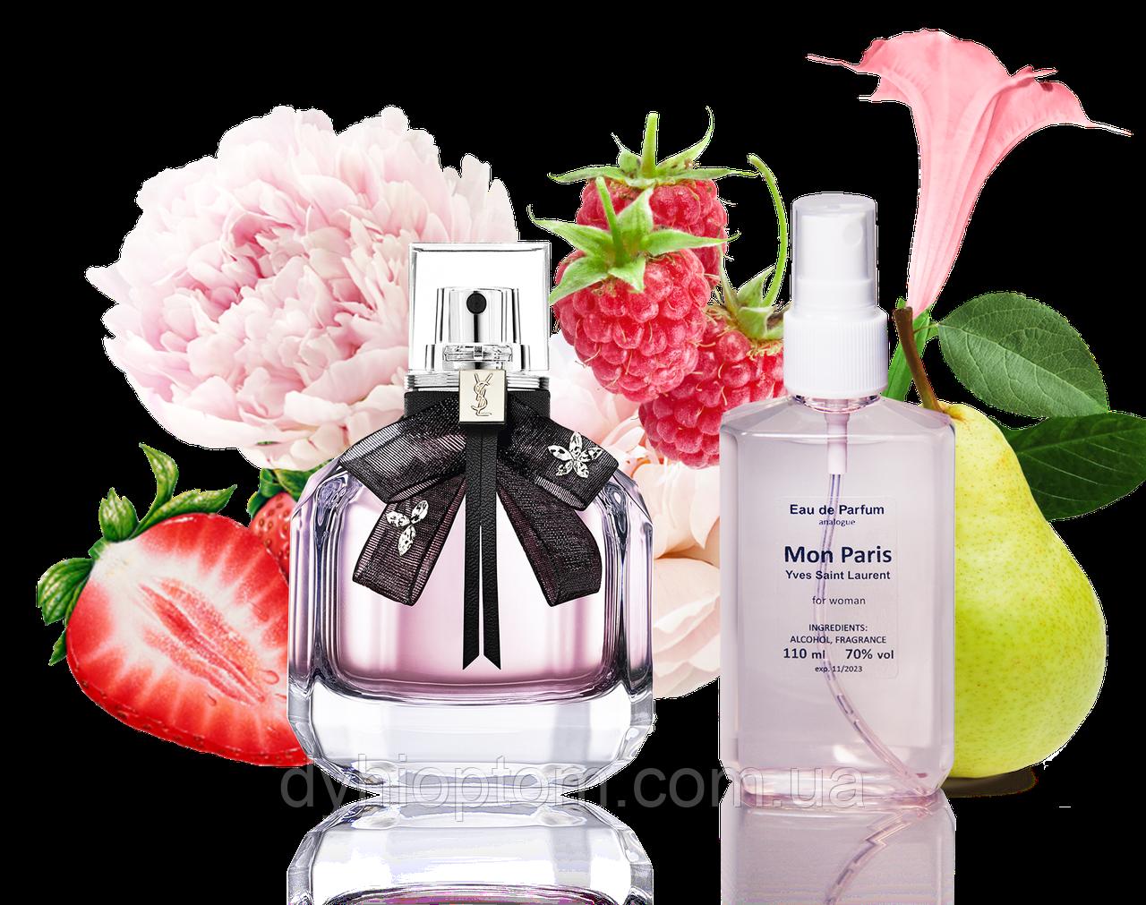 Аналог женского парфюма Mon Paris 110ml в пластике