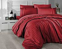 Комплект постельного белья Deluxe Satin New Trend Kirmizi First Choice Евро размер